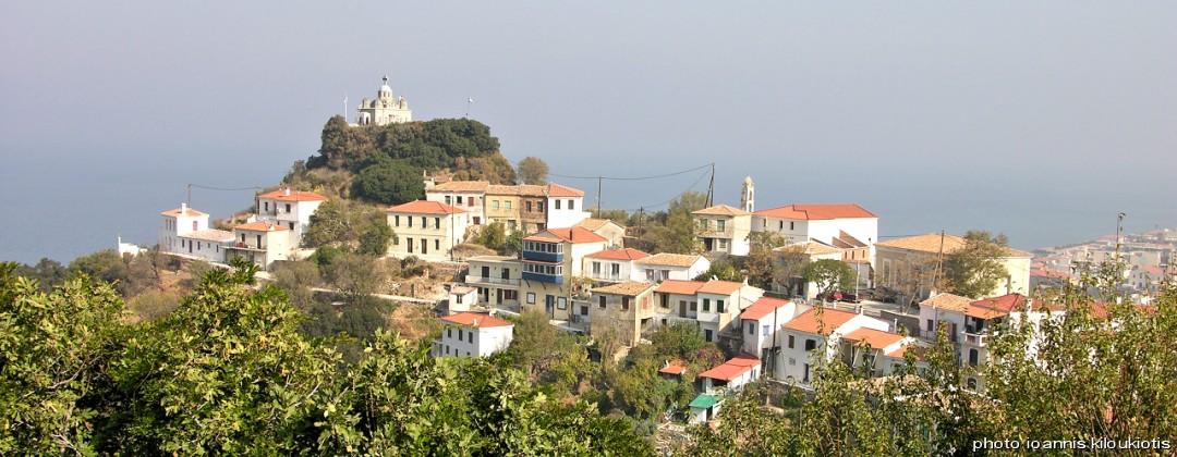 paleo karlovasi vilagges Samos city sightsee