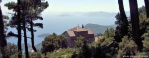 monastery vaggelistra kerkis mountain marathokampos samos