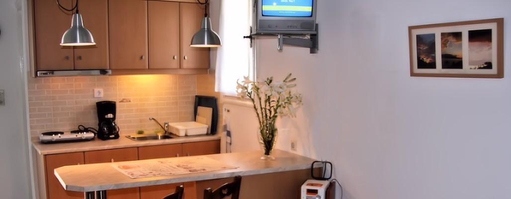 Samos accommodation studio hotel villa flora apartments