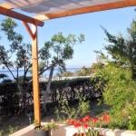 Villa Flora Samos Studios balcony