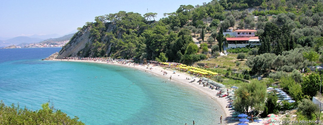 tsamadou beach kokkari  Samos city sightsee